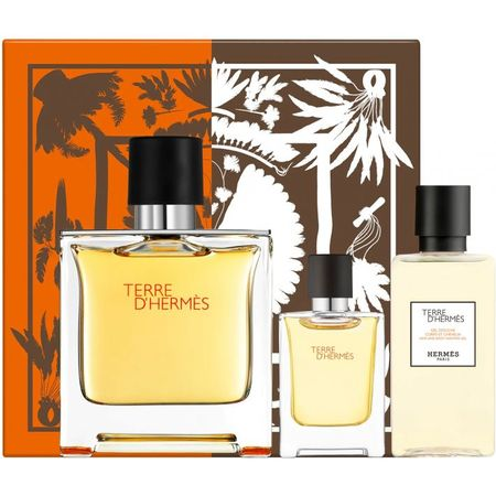 Hermes Terre d'Hermes Pure Parfum Set	75 ml + 5 ml + After Shave Lotion 40 ml 75 ml