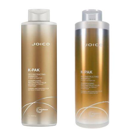 Shampoo Reconstructor K-pak Repair Damage + Acondicionador x lt para cabellos dañados